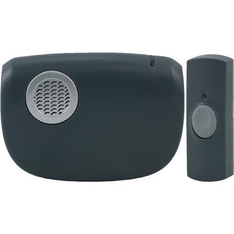 Ge 19240 Portable Door Chime With Doorbell Button