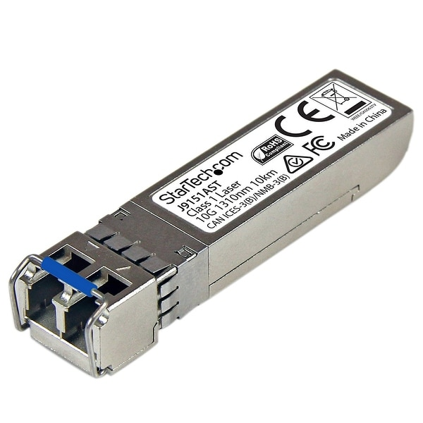 Startech - J9151ast 10Gb Fiber Sm Sfp+ Transceivernhp J9151a Compatible 10Km/6.2 Mi