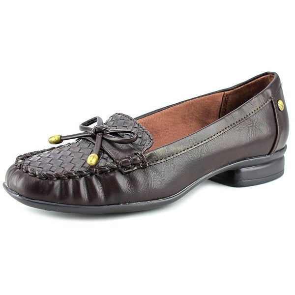 Life Stride Envy Women Moc Toe Synthetic Brown Loafer