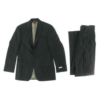 Izod Mens Regular Fit 2PC Two-Button Suit
