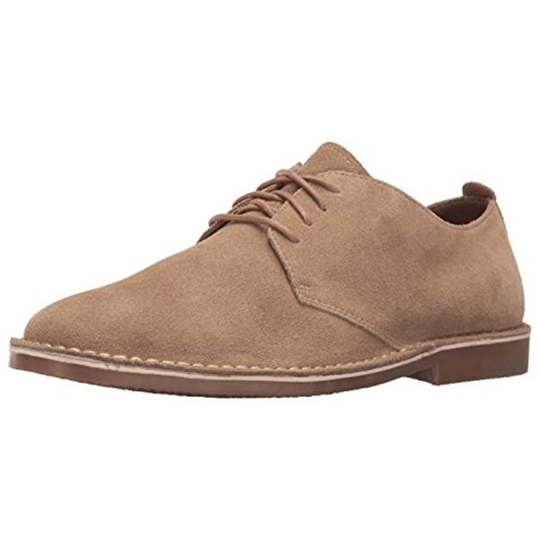 Nunn Bush Mens Gordy Oxfords Suede Memory Foam