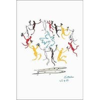 ''Dance of Youth'' by Pablo Picasso Huntington Graphics Art Print (36 x 24 in.)