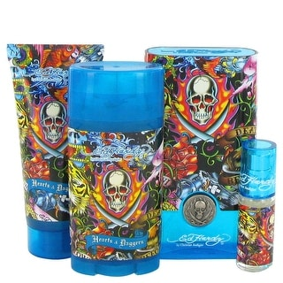 Gift Set -- 3.4 oz Eau De Toilette Spray + 3 oz Shower Gel + 2.75 oz Deodorant Stick + .25 oz Mini EDT Spray