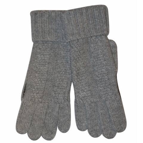 Brioni Mens Gray Gloves M