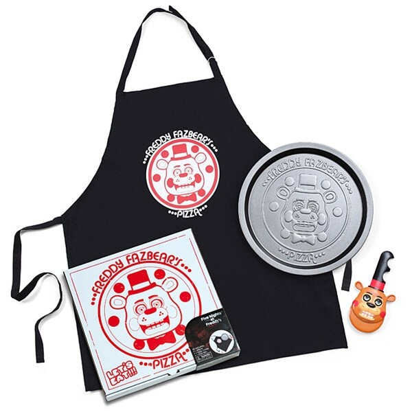 Five Nights At Freddy's 3-Piece Pizza Kit - Multi