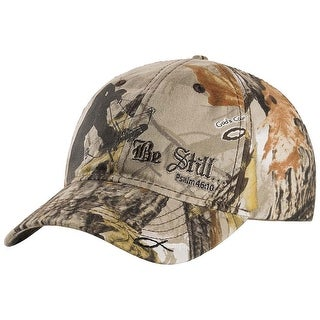 Legendary Whitetails Men's God's Country Camo Adjustable Be Still Cap