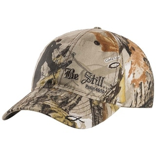 Legendary Whitetails Men's God's Country Camo Adjustable Be Still Cap - One Size