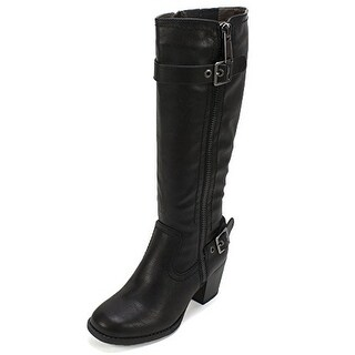 White Mountain Womens Dover Closed Toe Knee High Fashion Boots Fashion Boots