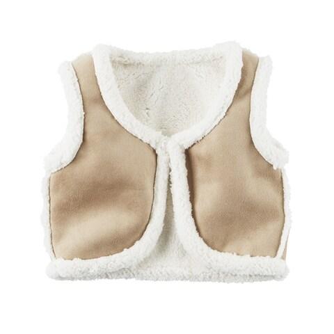Carter's Little Girls' Fleece-Lined Vest, 5-Toddler