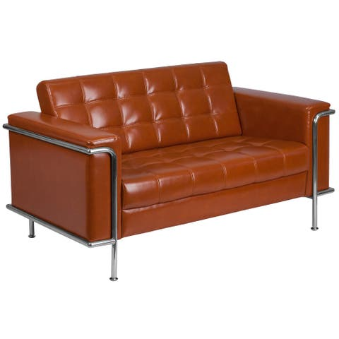 Bonded LeatherSoft Loveseat