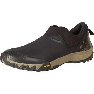 Rocky Outdoor Shoes Mens SilentHunter Oxford Moc Light Black RKYS108