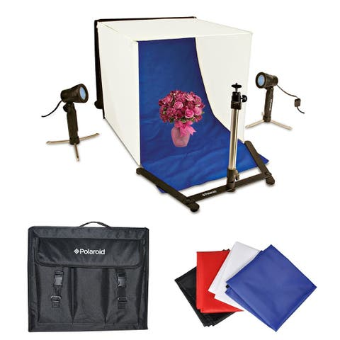 Polaroid Table Top Portable Photo Studio Light Tent Kit