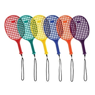 School Specialty Junior Plastic Paddles, Set of 6