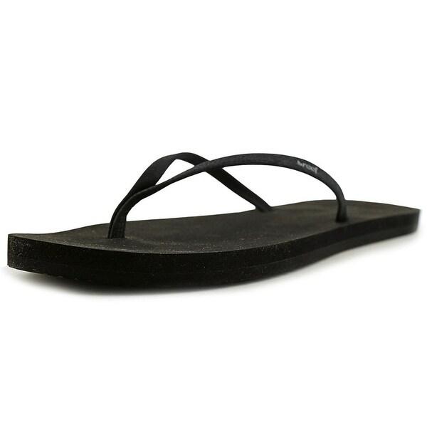 Reef Bliss Nights Sandals Women Open Toe Synthetic Black Flip Flop Sandal