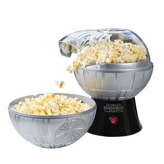Star Wars Rogue One Death Star Popcorn Maker - Hot Air Style with Removable Bowl - 10 in. x 13 in. x 10 in.