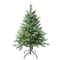 4' Coniferous Mixed Pine Artificial Christmas Tree - Unlit - green