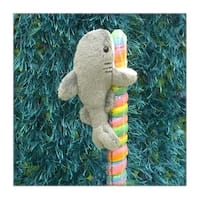 "Wishpets Child Shark Plush Toy 6"" Gray"