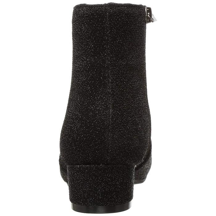 Kids Nine West Girls Alexius Ankle Zipper Chelsea Boots