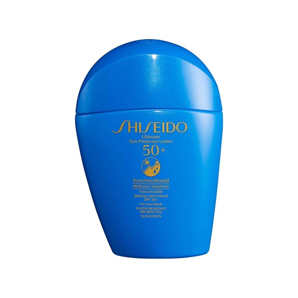 Shiseido Ultimate Sun Protector 2-ounce Lotion SynchroShield SPF50 (SPF 50 - Facial Sunscreen)