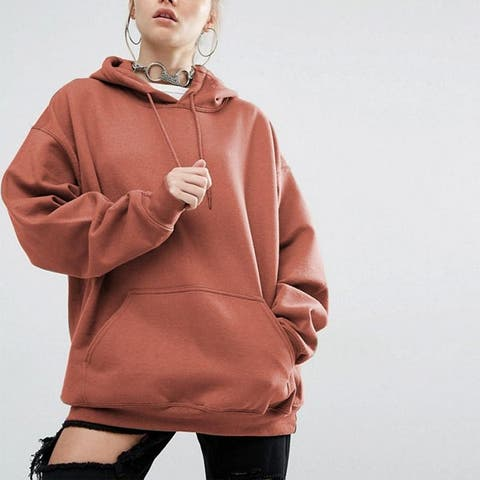 Solid Color Sport Bat Sweater