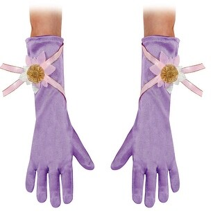 Toddler Rapunzel Costume Gloves - up to size 6