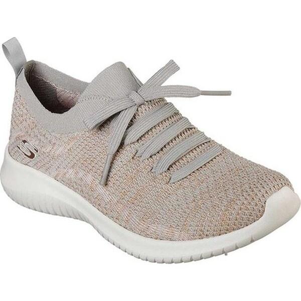 Ultra Flex Sneaker Taupe/Gold