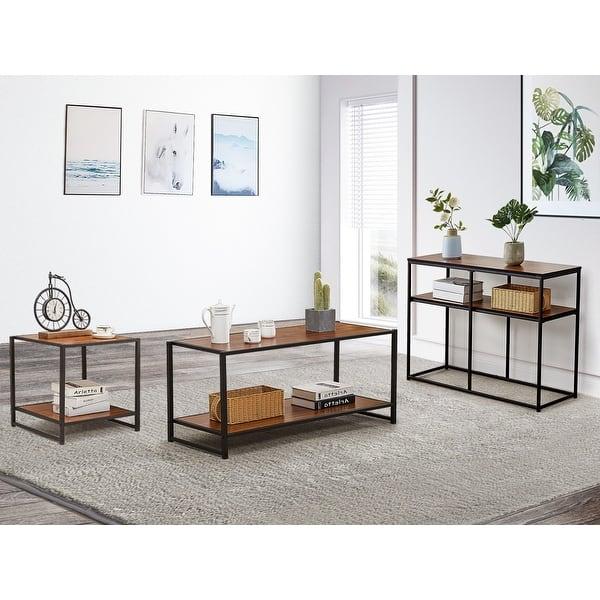 Vecelo Coffee Table End