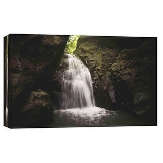 """PTM Images 9-102126  PTM Canvas Collection 8"""" x 10"""" - """"Deep in Thought"""" Giclee Waterfalls Art Print on Canvas"""