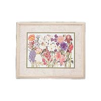 Wall Art Hyacinth Print Wood Frame 34.5 x 28.5 | Renovator's Supply