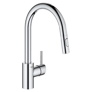 Link to Grohe 32 665 3 Concetto 1.75 GPM Single Hole Pull Down Kitchen Faucet Similar Items in Faucets