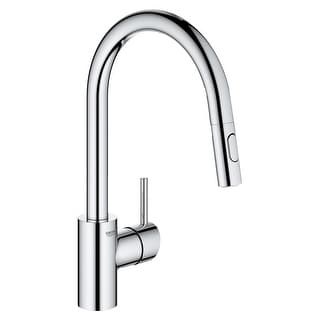 Grohe 32 665 3  Concetto 1.75 GPM Single Hole Pull Down Kitchen Faucet