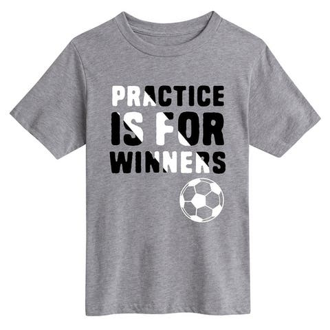 Practice Is For Winners - Youth Short Sleeve Tee
