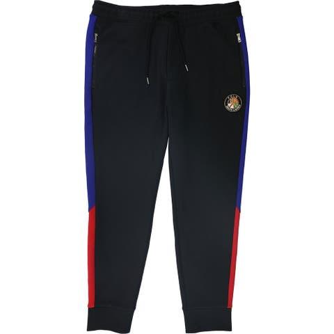 Ralph Lauren Mens Downhill Skier Casual Jogger Pants, Black, Medium