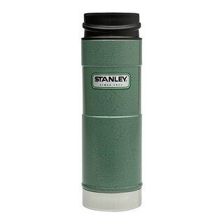 Stanley 10-01394-007 Classic One Hand Vacuum Mug, Hammertone Green, 16 Oz