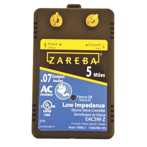Shop Zareba Ea5m Za5 Electric Fence Controller 5 Mile Free