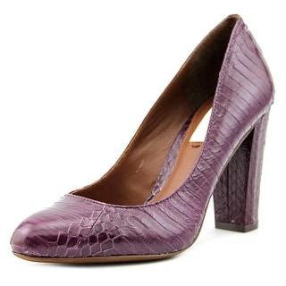Lauren Ralph Lauren Tal Round Toe Leather Loafer