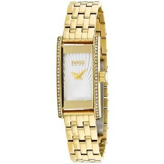 Hugo Boss Women's Cocktail 1502384 Silver Dial watch