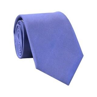 Calvin Klein CK Slim Silk Neck Tie Purple Solid