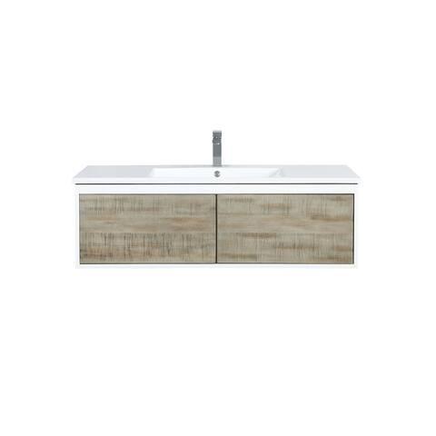 Lexora Scopi 48 inch Single Bathroom Vanity with Faucet
