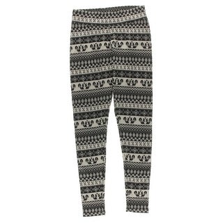 G.H. Bass & Co. Womens Knit Printed Leggings