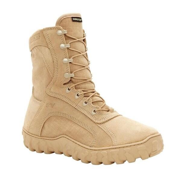 Rocky Tactical Boots Mens S2V GTX Waterproof Desert Tan