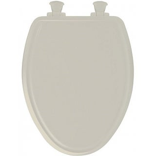 Enjoyable Mayfair 48Slowa 006 Round Toilet Seat Wood Bone Overstock Com Shopping The Best Deals On Toilet Seats Caraccident5 Cool Chair Designs And Ideas Caraccident5Info