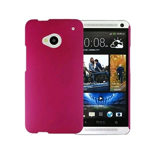 Xentris Wireless Hard Shell for HTC One (M7) - Hot Pink