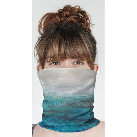 "SEASIDE Neck Gaiter By Jessica Osborne - 10"" x 18"""
