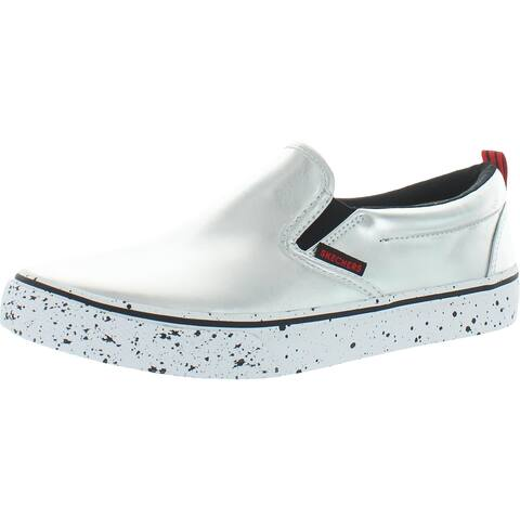 Skechers Womens V'Lites-Rocket Shoes Slip-On Sneakers Athleisure Lifestyle - Silver