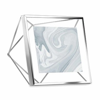 "Link to Umbra 313017 Prisma 6"" x 3"" Steel Free Standing Picture Frame Similar Items in Decorative Accessories"