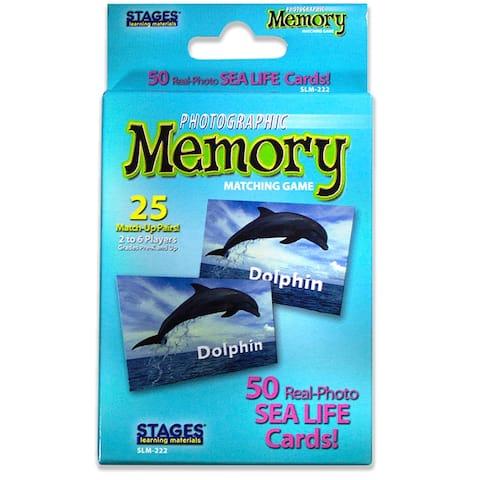Sea Life Photographic Memory Matching Game