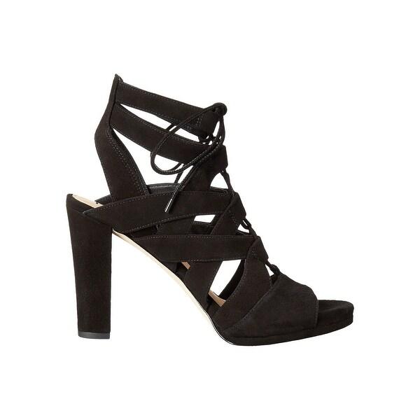 Via Spiga Womens Collette Leather Open Toe Casual Strappy Sandals