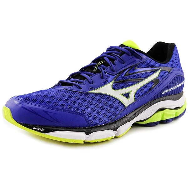 Mizuno Wave Inspire 12 Men Blue/White/Lime Running Shoes