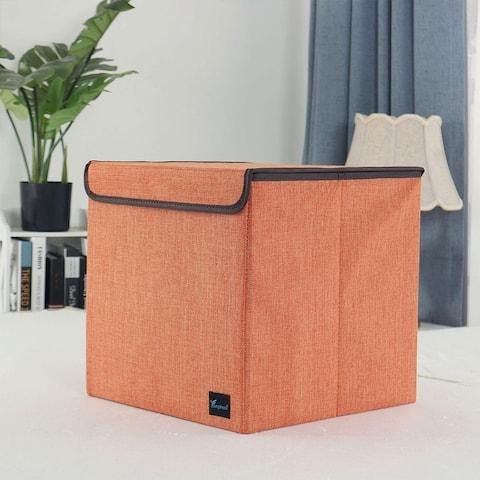 Fabric Storage Bins Baskets Foldable Cloth Storage Cubes Organizers for Closet